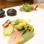 114691435 - スモークサーモンと夏野菜のテリーヌ