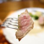 114691440 - 養老豚のステーキ