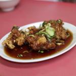 台湾ラーメン光陽 - 2019年9月再訪:酢鶏(ハーフ)☆