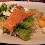 ステーキバーマサ - ディナーのサラダ