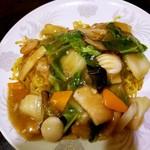 中国料理 聚宝 - 料理写真:あんかけ焼きそば 840円