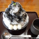 114697303 - 黒ゴマミルク&梅昆布茶