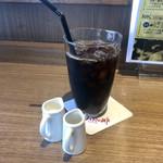 葉山珈琲 - アイスコーヒー、美味しかった。