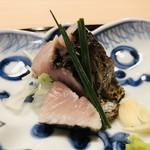 よし澤 - サワラの藁焼き