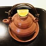 よし澤 - 松茸とハモの土瓶蒸し