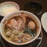 ゴインゴイン - 味玉中田ブラック (830円)