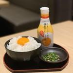 焼肉 すき焼き 純 - こだわりの卵かけご飯