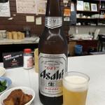 串ホルモン 串源 - 瓶ビール(大)♡¥550(税別)