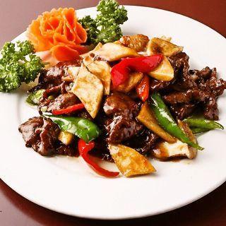 珍しいジビエ中華を厳選した食材で調理!初心者にもおすすめです