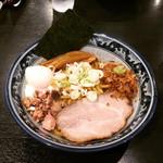 兎に角 - 油そば + 温泉玉子 ¥790+110-