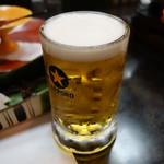 可児かまど - 生ビールは乾杯の後から