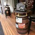 Rize Mize - お店入口のテラス席
