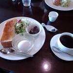 カフェグロウ - 料理写真:モーニング