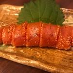 日本酒chintara 燻ト肉 - 燻製辛子明太子