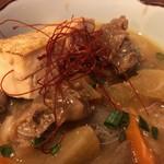 日本酒chintara 燻ト肉 - 牛すじ味噌煮込み
