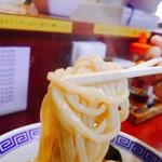 つけ麺 石ばし - 麺リフト