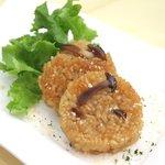 ヴィラ・ルーデンス - ポルチーニ茸の焼きリゾット