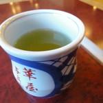 華屋与兵衛 - 料理写真:玄米茶