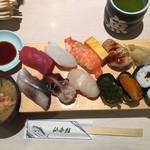 仙令鮨 - 青葉握り1200円です