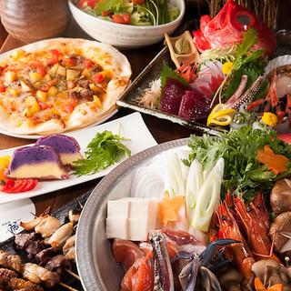 各種ご宴会にはコースがお得◎ランチは日替わりで700円~。