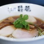 らぁ麺 飛鶏 - 鶏そば + 煮玉子☆