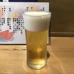 114725991 - 昼酌セットのグラスビール