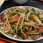中華街 - レバニラ炒め