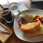 しまうまカフェ - モーニング」