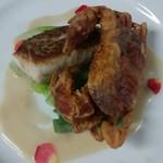 Laugh Full's - 料理写真:真鯛のポワレとソフトシェルクラブのフリット