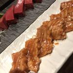 焼肉K - 厚切りミノと超新鮮レバー