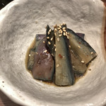 焼肉K - ナスの煮浸し  チョイピリ辛
