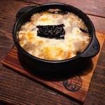 秋茄子ととろろのチーズ焼き