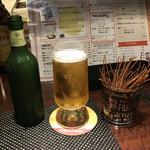 赤羽HAZE - ハートランドビール。       美味し。