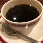 狐狸庵 - セットのコーヒー。