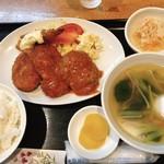 お食事処 千疋屋 - 料理写真:ミックスフライ定食
