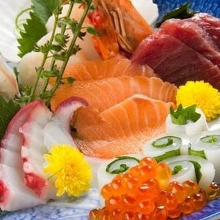 【お刺身盛り合わせは1500円~】新鮮な海鮮をお楽しみ下さい