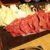游泉 志だて - 料理写真:前沢牛のしゃぶしゃぶ