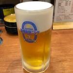 健康寿司海鮮家 - 生ビール 540円。