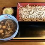 そば処 大和 - 料理写真:もつせいろ