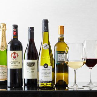 ソムリエが厳選したニューワールドのワインをお届けいたします
