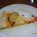 ボンジョルノ - スモークチーズのピザ