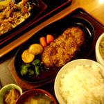 MOIWA三荘 - 料理写真:ハンバーグ