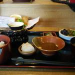 太助 - 料理写真:とろける鯵フライ定食~☆