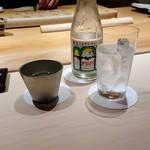 114753250 - 岐阜県の醴泉純米吟醸を能作のぐい飲みで