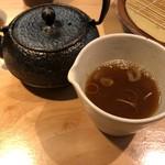 石臼挽き手打 蕎楽亭 - 2019.8.31  蕎麦湯