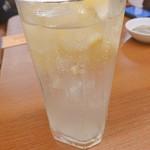餃子の王将 - 冷凍レモンサワー