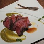 114755738 - 塊肉の薪焼き 豪州産仔羊モモ肉 1480円