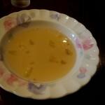 グルメ - 800円グルメランチのスープ