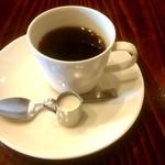 グルメ - 800円グルメランチのホットコーヒー