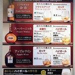 114764095 - オススメの飲み方が紹介されているので、3種2通り合計6通りの割り方で楽しみました。